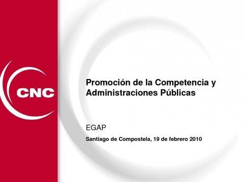 Presentación Luis Berenguer Fuster, presidente da Comisión Nacional da Competencia. - Xornada sobre Estructura e Contido da Memoria do Análise do Impacto Normativo para a Defensa da Competencia
